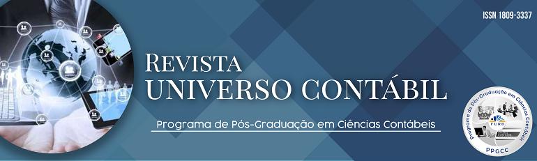 Revista do Programa de Pós-Graduação em Ciências Contábeis da Universidade Regional de Blumenau (PPGCC/FURB), Brasil