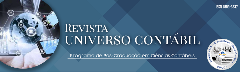 Revista do Programa de Pós-Graduação em Ciências Contábeis da Universidade Regional de Blumenau (PPGCC/FURB) Brasil